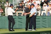 2005年 日本オープンゴルフ選手権競技 初日 中嶋常幸 青木功 尾崎将司
