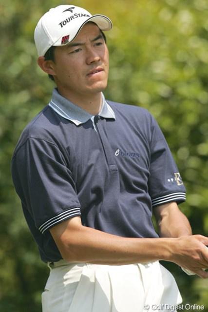 2005年 ブリヂストンオープンゴルフトーナメント 2日目 横尾要 6つのバーディを奪い首位に並んだ横尾要(写真は中日クラウンズ時のもの)