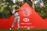 2019年 WGC HSBCチャンピオンズ 事前 松山英樹