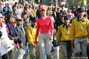 2005年 カシオワールドオープンゴルフトーナメント 初日 ミッシェル・ウィ