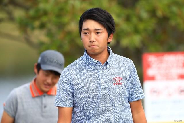 現役大学生の小木曽喬。初めての首位スタートを切った