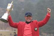 2005年 ゴルフ日本シリーズJTカップ 最終日 今野康晴