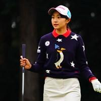 今週はがんばりどころです。 2018年 樋口久子 三菱電機レディスゴルフトーナメント 初日 三浦桃香