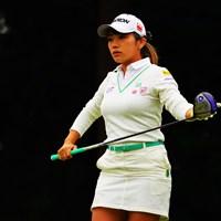 今週もまた活躍の予感ですね。 2018年 樋口久子 三菱電機レディスゴルフトーナメント 初日 安田彩乃