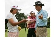 2005年 サロンパスワールドレディスゴルフトーナメント 事前 横峯さくら