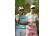 2005年 サロンパスワールドレディスゴルフトーナメント 初日 カリー・ウェブ 横峯さくら