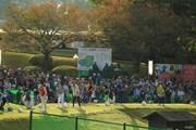 2018年 樋口久子 三菱電機レディスゴルフトーナメント 最終日 練習場