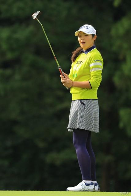 2018年 樋口久子 三菱電機レディスゴルフトーナメント 最終日 辻梨恵 あっ、入っちゃった。本人もビックリ。