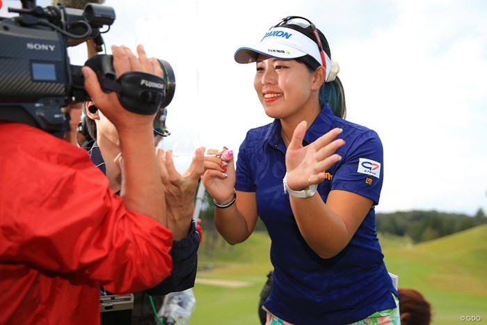 みんな、見てる? 2018年 樋口久子 三菱電機レディスゴルフトーナメント 最終日 ささきしょうこ