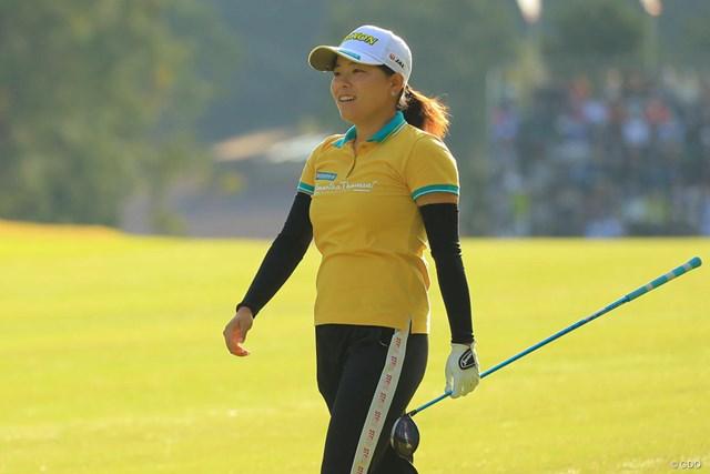 2018年 樋口久子 三菱電機レディスゴルフトーナメント  最終日 勝みなみ 勝みなみは通算7アンダーの8位で終えた