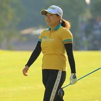 勝みなみは通算7アンダーの8位で終えた 2018年 樋口久子 三菱電機レディスゴルフトーナメント  最終日 勝みなみ