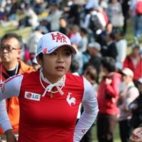 大勢のギャラリーを引き付けるイ・ボミの魅力とは 2018年 樋口久子 三菱電機レディスゴルフトーナメント 最終日 イ・ボミ