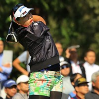 クラブ契約フリーのささきしょうこが今季2勝目を挙げた 2018年 樋口久子 三菱電機レディスゴルフトーナメント  最終日 ささきしょうこ