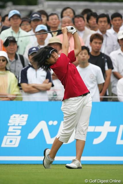 2005年 ベルーナレディースカップゴルフトーナメント 最終日 宮里美香 最終日は1つスコアを落とし9位タイに終わった宮里美香
