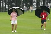 2005年 スタンレーレディスゴルフトーナメント 最終日 横峯さくら 宮里美香