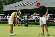 2005年 クリスタルガイザーレディスゴルフトーナメント 事前 グレース朴