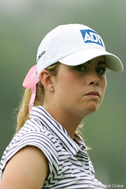 2005年 NEC軽井沢72ゴルフトーナメント 初日 ポーラ・クリーマー 米国ツアーで話題のポーラ・クリーマー。バーディラッシュで首位へ