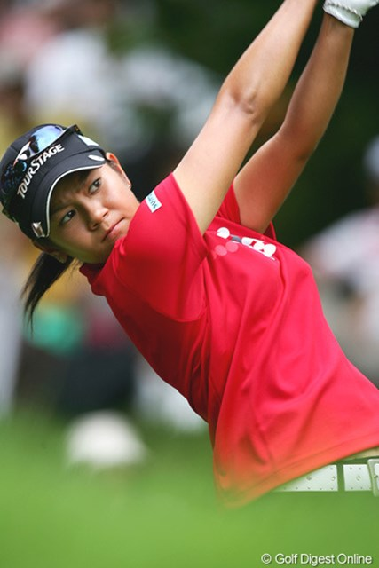 2005年 日本女子プロゴルフ選手権大会コニカミノルタ杯 最終日 宮里藍 終盤伸ばせず不動に2打足りずメジャー制覇を逃した宮里藍