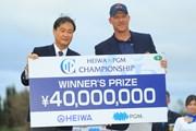 2018年 HEIWA・PGM CHAMPIONSHIP 最終日 ショーン・ノリス