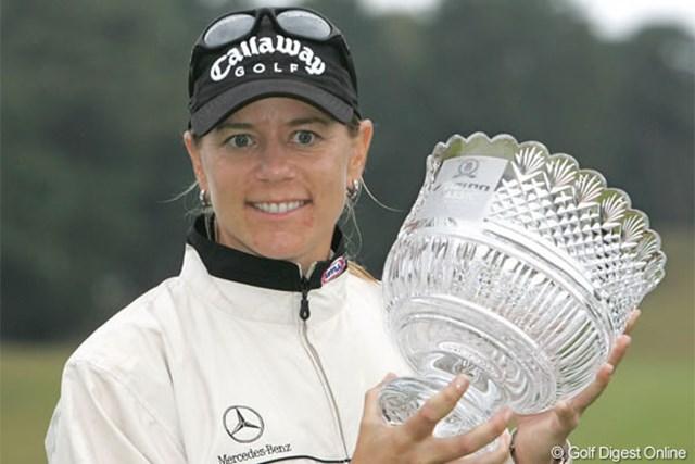 2005年 ミズノクラシック 最終日 アニカ・ソレンスタム 逆転優勝で前人未到の同一大会5連覇を達成したアニカ・ソレンスタム