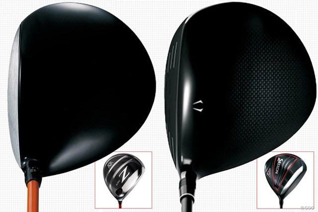 左が前モデル(Z565)、右が新モデル(Z585)
