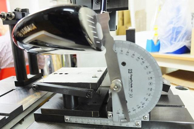 表示ロフト角が9.5度でリアルロフト角は8.75度と非常に小さい