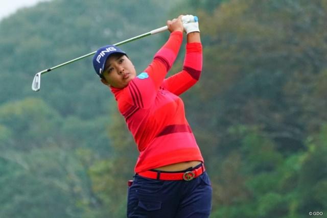 2018年 伊藤園レディスゴルフトーナメント 初日 鈴木愛 逆転女王へ残り3試合で1勝が最低条件。鈴木愛が3位スタートを切った