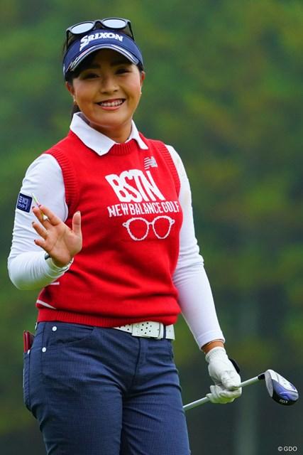 2018年 伊藤園レディスゴルフトーナメント 初日 青木瀬令奈 やっぱり応援したくなっちゃうよね。