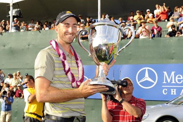 昨年はG.オギルビーが開幕戦を制した。2010年、好スタートを切るのは果たして!?(Stan Badz /Getty Images)