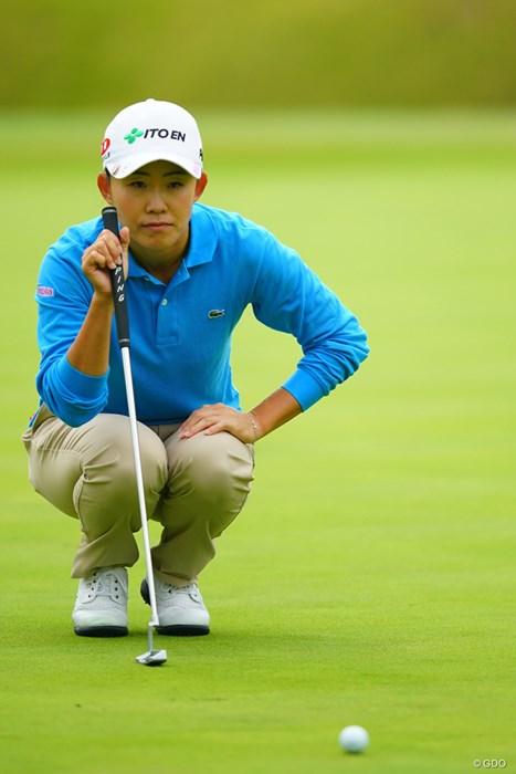 ホステスプロもがんばってます。17位タイ。 2018年 伊藤園レディスゴルフトーナメント 2日目 前田陽子