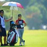いつも明るい笑顔に癒されます。 2018年 伊藤園レディスゴルフトーナメント 2日目 青木瀬令奈