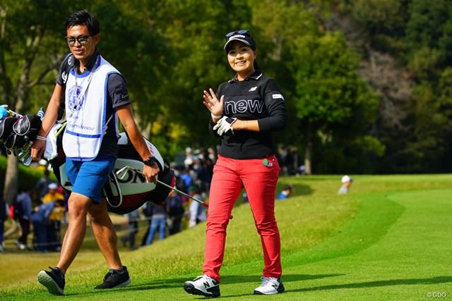2018年 伊藤園レディスゴルフトーナメント 最終日 青木瀬令奈 せれにゃん、今日もありがとう!