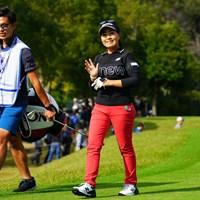 せれにゃん、今日もありがとう! 2018年 伊藤園レディスゴルフトーナメント 最終日 青木瀬令奈