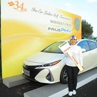 私、この車乗りますよ! 2018年 伊藤園レディスゴルフトーナメント 最終日 黄アルム