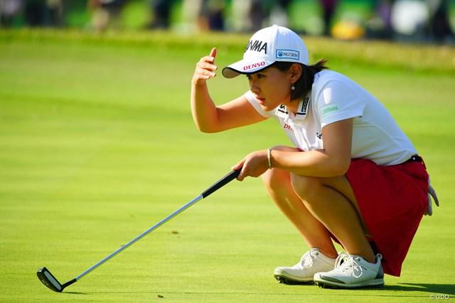 2018年 伊藤園レディスゴルフトーナメント 最終日 永井花奈 バックナインで怒涛の追い上げ。