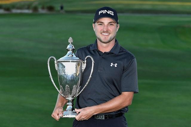 昨年覇者はオースティン・クック。ツアー初優勝を飾った(Stan Badz/PGA TOUR)