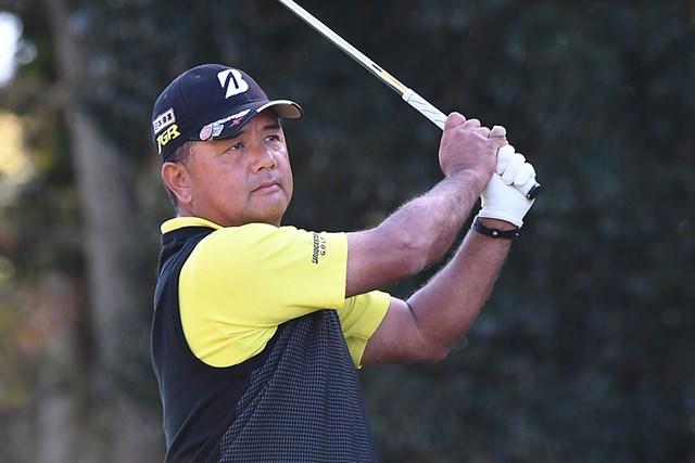 単独首位で最終日を迎える寺西明 ※画像提供:日本プロゴルフ協会