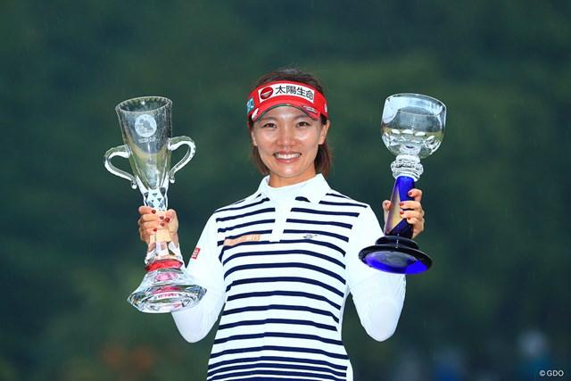2017年 LPGAツアー選手権リコーカップ 最終日 テレサ・ルー 昨年はテレサ・ルーが最終戦2勝目を挙げた
