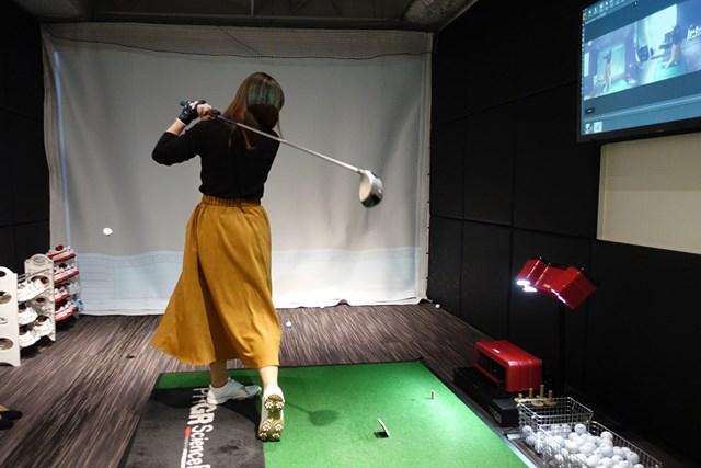 ゴルフ歴は長いが一向に上達しないという受講者