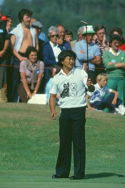 1982年の全英オープンでは4位に入った(Getty Images)