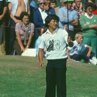 1982年の全英オープンでは4位に入った(Getty Images) 1982年 全英オープン 倉本昌弘