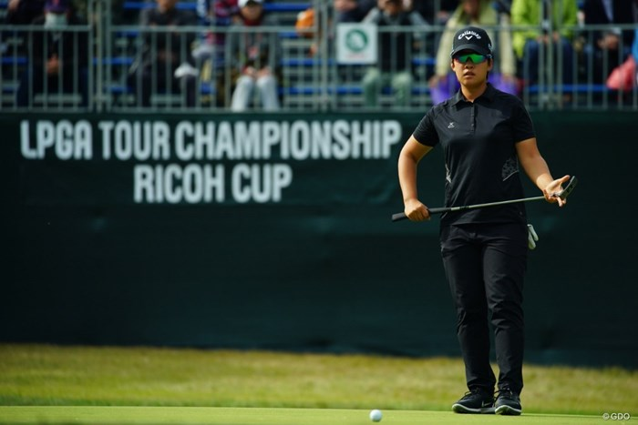 今季最終戦が開幕。ペ・ヒギョンが単独首位で初日を終えた 2018年 LPGAツアー選手権リコーカップ 初日 ペ・ヒギョン