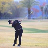 なかなかのスイングだ 2018年 カシオワールドオープンゴルフトーナメント 初日 嘉数光倫