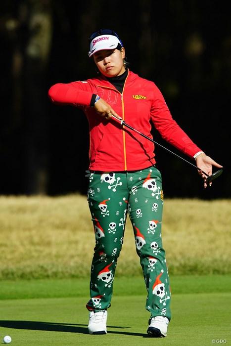 一足お先にメリークリスマス! 2018年 LPGAツアー選手権リコーカップ 2日目 ささきしょうこ