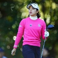 キラキラの良い光線。 2018年 LPGAツアー選手権リコーカップ 2日目 大江香織