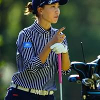 できるOLっぽい。 2018年 LPGAツアー選手権リコーカップ 2日目 上田桃子