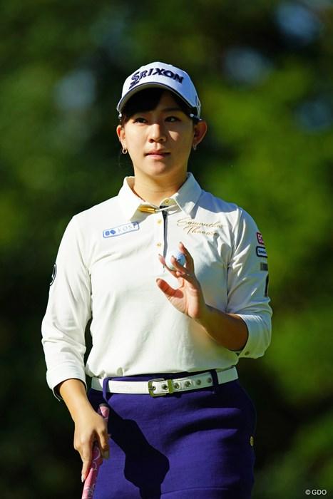 17位タイに浮上。休養明けでもがんばってます! 2018年 LPGAツアー選手権リコーカップ 2日目 香妻琴乃