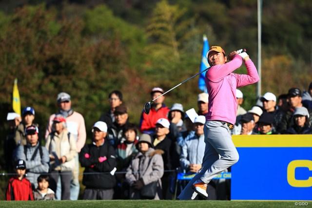 2018年 カシオワールドオープンゴルフトーナメント 2日目 チェ・ホソン チェ・ホソンは首位で3日目に臨む