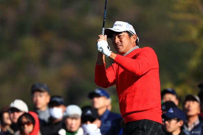 山下和宏は10年保持した賞金シードを失った 2018年 カシオワールドオープンゴルフトーナメント 2日目 山下和宏