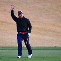 沖縄出身の嘉数光倫は強風もお手のもの? トップタイで大会を折り返した 2018年 カシオワールドオープンゴルフトーナメント 2日目 嘉数光倫